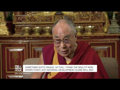 Dalai Lama calls for universal teaching of compassion