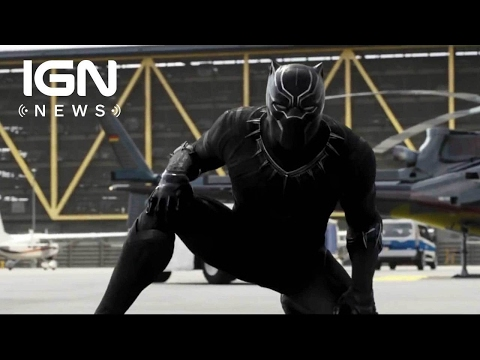 Black Panther Footage Screened, First Trailer Due This Summer - IGN News