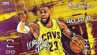 2015 NBA Finals: Game 3 Minimovie