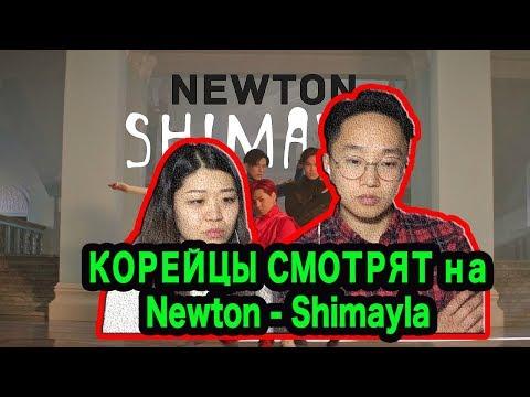 РЕАКЦИЯ КОРЕЙЦЕВ на Newton - Shimayla!!!