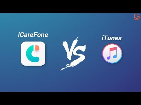 ICareFone VS ITunes. The Best ITunes Alternative 2020