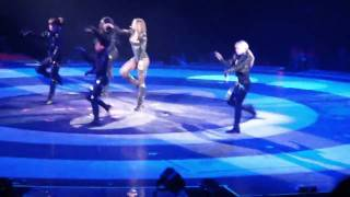 Ciara High Price, Like A Boy and Goodies Live on the  Britney Spears Circus Tour