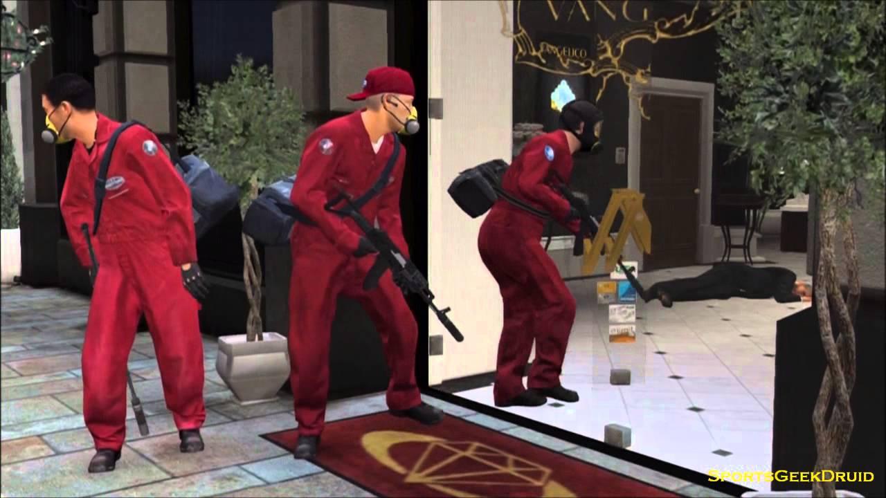 GTA 5 - Jewelry Heist - YouTube