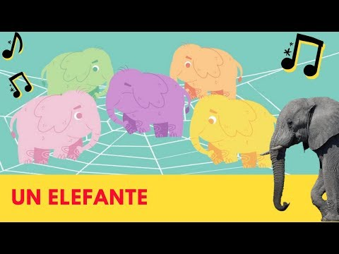123 Andrés – Un elefante se balanceaba
