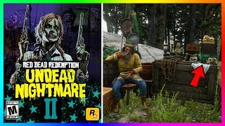 Red Dead Redemption 2 Undead Nightmare - NEW Findings! Sacred Jade Mask, Mexico & MORE! (RDR2)