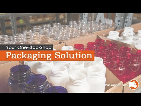 Containers and Packaging Supplies, Glass, Plastic Bottle Wholesale Supplier