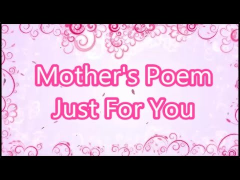 Mother Acrostic Poems 6
