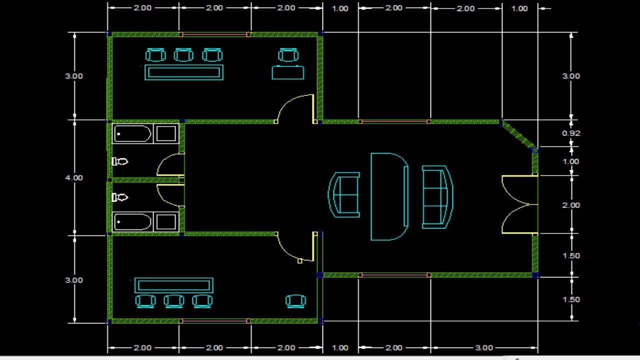530+ Gambar Desain Rumah Sederhana Autocad HD Terbaik Unduh Gratis