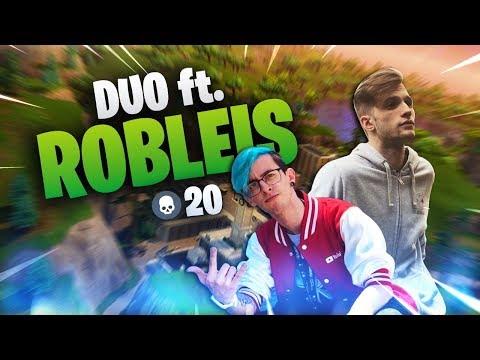 Fortnite   duo vs SQUADS ft ROBLEIS   zEkO