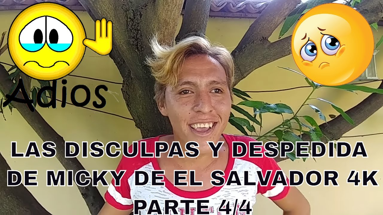 Micky Te Extra Aremos Y Te Deseamos Suerte La Despedida