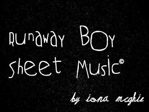 Runaway Boy Sheet Music