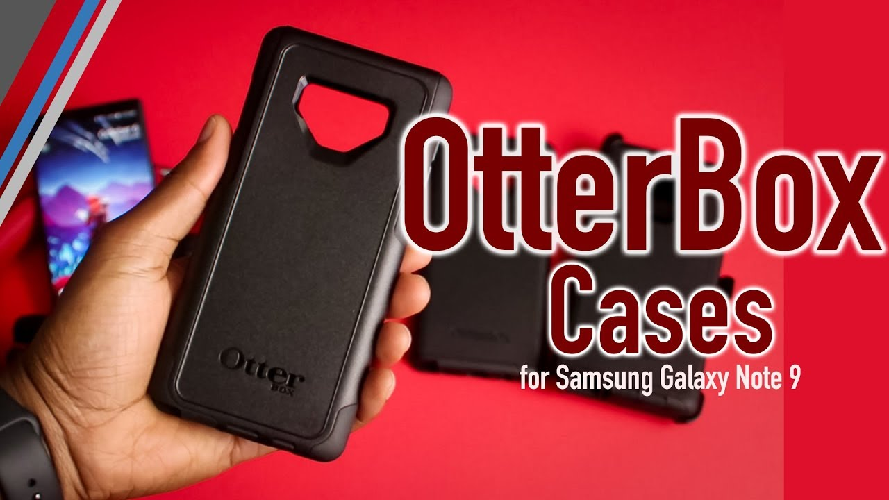 buy popular d150d ca1c9 OtterBox Cases Review | Samsung Galaxy Note 9 | Beauty and the Beasts