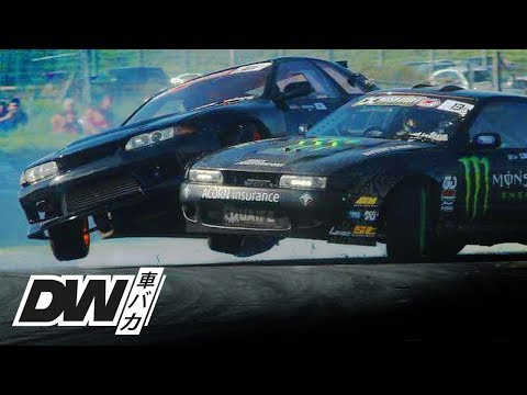 R32 Skyline HARD drift crash at Japfest Ireland IDC!