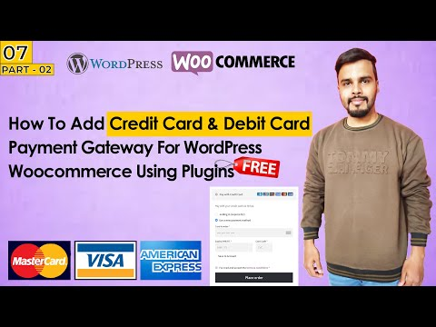 How To Add Credit Card Payment Gateway For WordPress Woocommerce in URDU/HINDI  [Part-2]