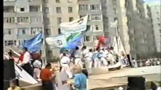 Вертолёт г.Курган День города 1995, заозёрный