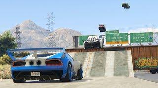 SALTOS CON SUPER VELOCIDAD!!!! - CARRERA GTA V ONLINE - GTA 5 ONLINE