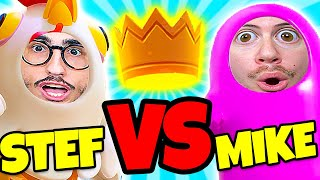 MIKE vs STEF in FINALE su FALL GUYS!! - CHI VINCERÀ?? *4 Hacker* W/ TwoPlayersOneConsole