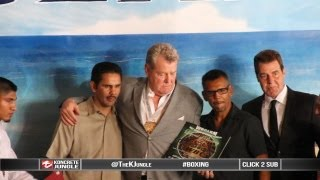 Legendary boxing promoter honored at WBC museum, promoted Tyson, Ward, P Williams [True HD]