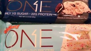 OH YEAH! One Protein Bars- YouTube made me buy it!
