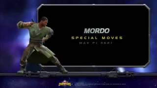 Mordo Special Moves | Marvel Contest of Champ...