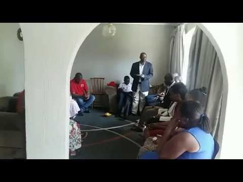 Methodist Morning Service for Tsvangirai in Johannesburg Before Travel to Zimbabwe (17.02.2018)