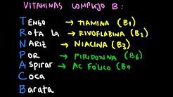 mnemonic Vitaminas Complejo B (español)