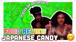 FOOD REVIEW: Japanese Candy