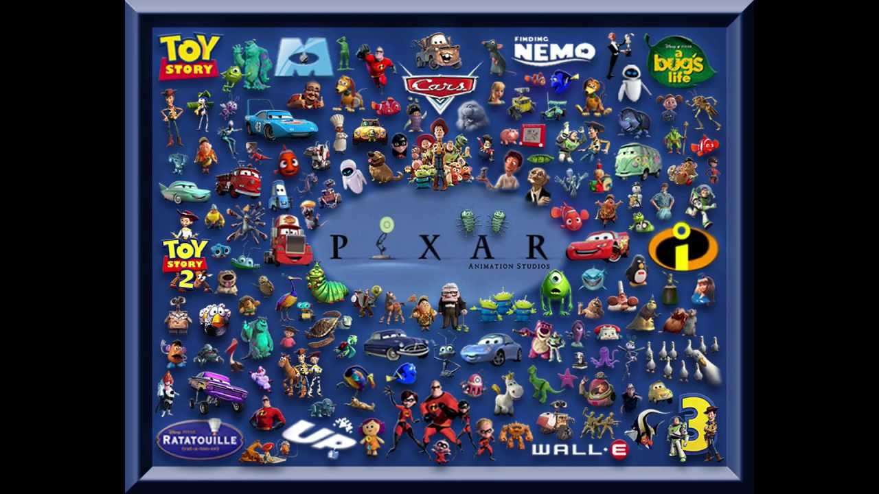 The Pixar Theory Video YouTube - Pixar movies connected