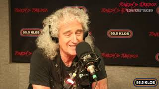 Brian May In-studio on Jonesy's Jukebox