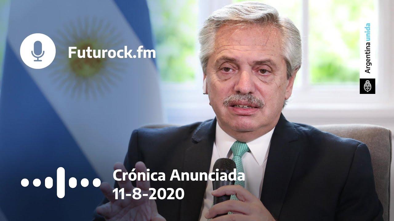 "Entrevista en ""Crónica anunciada"" con Juan Amorín - Futurock - 11/8/2020"