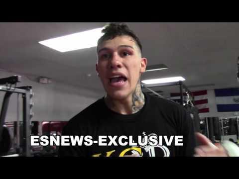 GABE ROSADO ON STEVENS SAYING GGG DOES NOT HIT HARD BULLSHIT!! EsNews Boxing