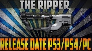 Call of Duty:Ghosts Release Date for PS3/PS4/PC Ripper DLC Gun & More!!!