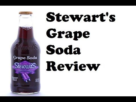 Stewart's Grape Soda Review