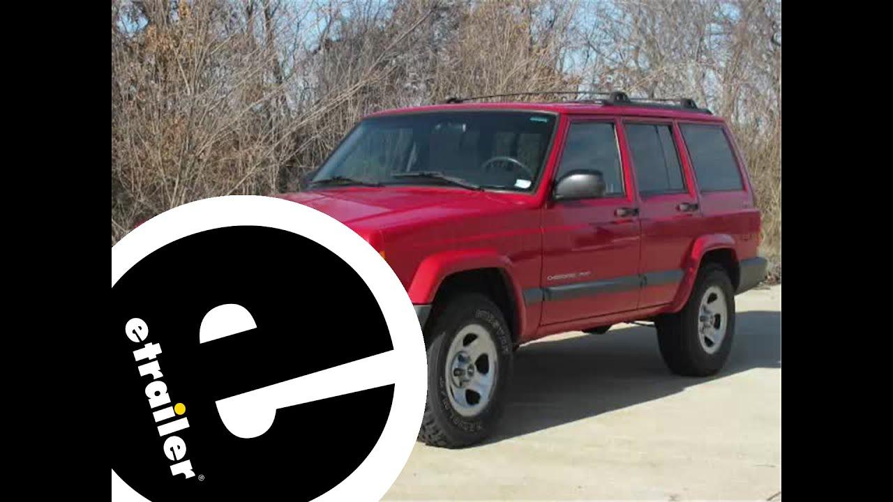hight resolution of trailer wiring harness installation 2000 jeep cherokee etrailer com