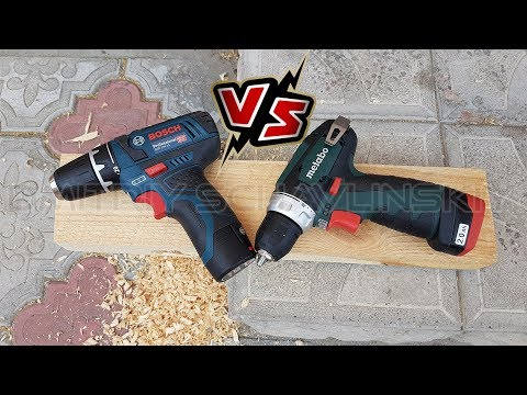 Bosch & Metabo Which screwdriver to choose? GSR 12V-15 vs. PowerMaxx BS