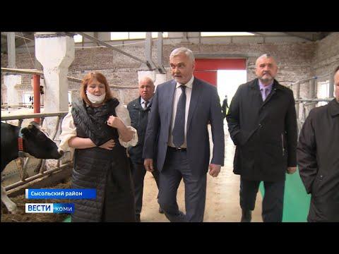 Рабочая поездка Владимира Уйба в Сысольский район