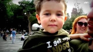 24.07.16. Baku. Flashmob Azerbaijan. Soap Bubbles. Clip version. 2.