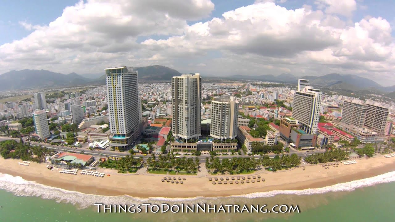 a look at nha trang beach in front of the intercontinental. Black Bedroom Furniture Sets. Home Design Ideas
