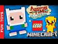 Adventure Time + Lego + Minecraft / Finn & Jake / Hora de Aventura / DIY Faça Você Mesmo Speed Build: Build your own Finn & Jake from