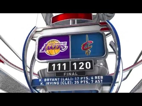 Los Angeles Lakers vs Cleveland Cavaliers - February, 10, 2016