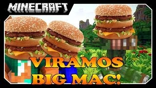 Minecraft - VIRAMOS BIG MAC? Ft Pac e JV (Facecam)