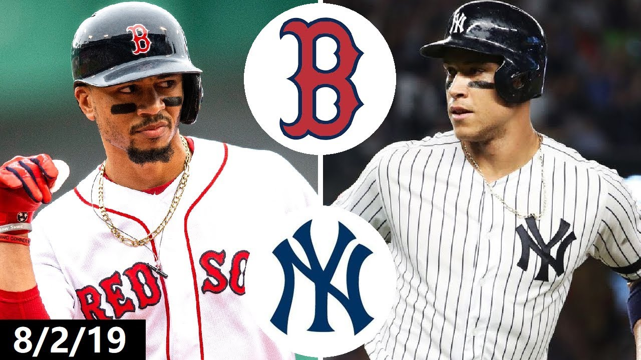 Boston Red Sox vs New York Yankees Highlights | August 2, 2019 (2019 MLB Season)