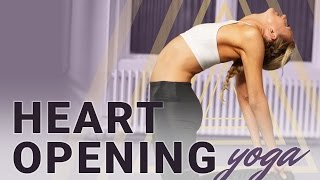 Heart Opening Yoga - Back Bending Yoga Sequence w/ Journaling & Meditation | RITUAL