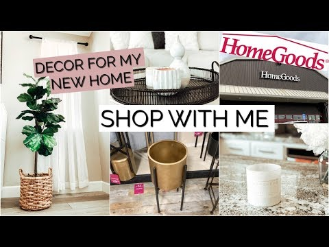 SHOP with Me at HOMEGOODS & HAUL of DECOR I BOUGHT FOR NEW HOUSE!