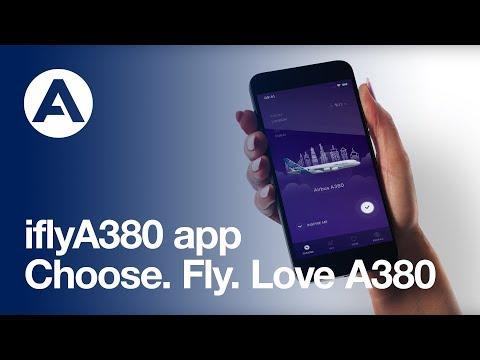 iflyA380 app - Choose. Fly. Love A380.