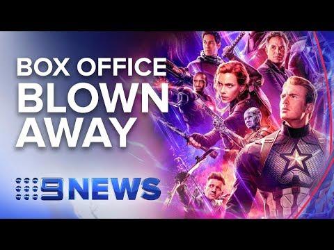 Avengers Endgame Smashes Global Box Office Records | Nine News Australia