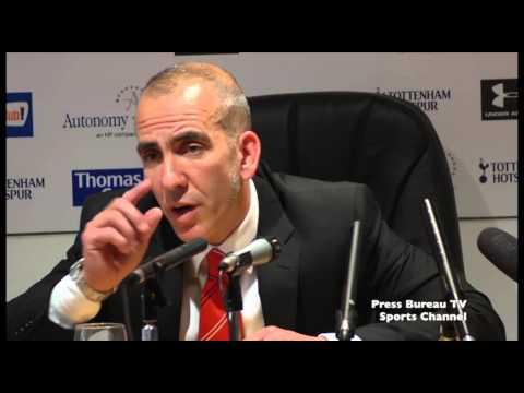 Paolo Di Canio reaction Tottenham vs Sunderland