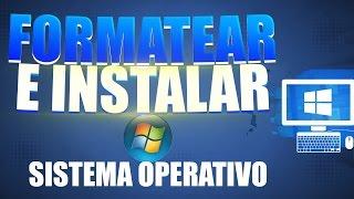 Como Formatear una PC e Instalar Windows 7/8.1/10  Completo desde Cero Paso a Paso