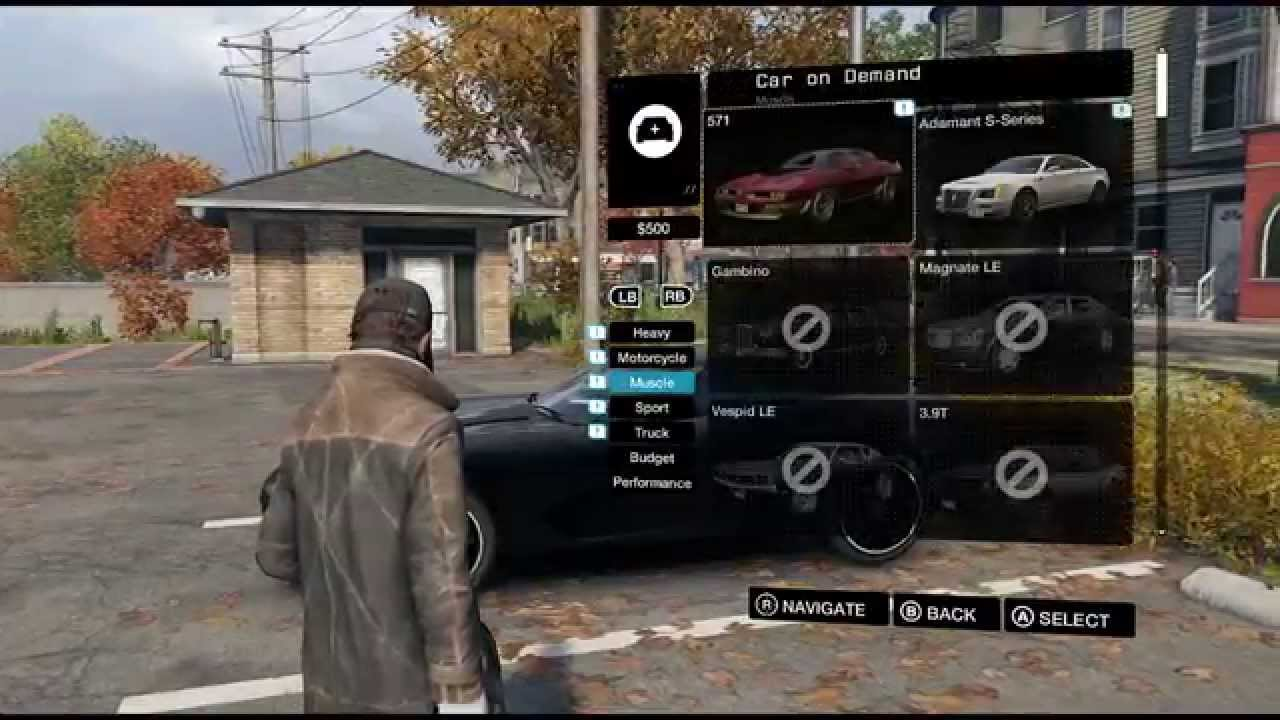 Cars On Demand >> Watch Dogs Gameplay Car On Demand Tutorial Youtube