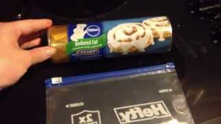 How to make Store Cinnamon rolls in your microwave!